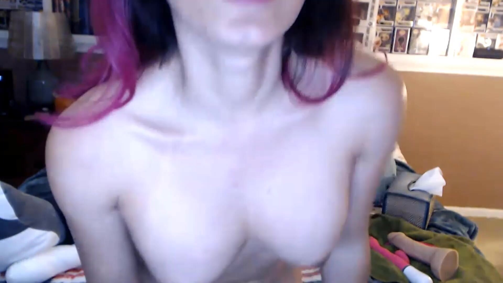 Asiatic good girl Nina with great boobies and tricky mind