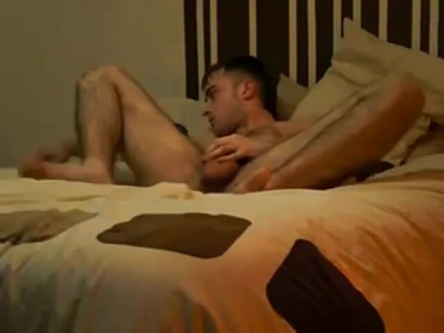 On his Back and Legs up 2